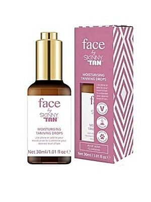 Skinny Tan New Face Moisturising Tanning Drops 30ml - Approved Stockist