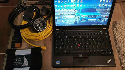 Profi BMW Diagnose Laptop mit ICOM Next A2+B+C professional ICOM A2 diagnostic
