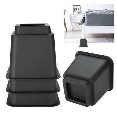 Set Round Bed Risers Circular Heavy Duty Furniture Lifter For Table Chair Sofa