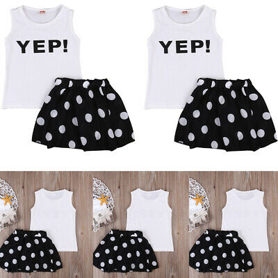 2PCS Toddler Kids Baby Girl Winter Clothes Floral Tops+Pants Overall Outfits