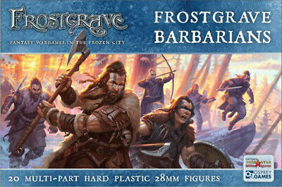 Frostgrave Barbarians - Osrey Games/Northstar Miniatures