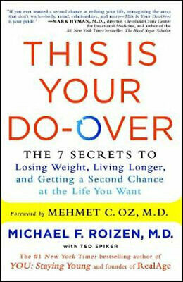 NEW This Is Your Do-Over By Michael F. Roizen Paperback Free Shipping