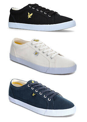 Lyle and Scott Mens Canvas Trainers Lyle & Scott Canvas Pumps Plimsolls Shoes