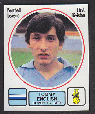 Panini - Football 82 - # 73 Tommy English - Coventry