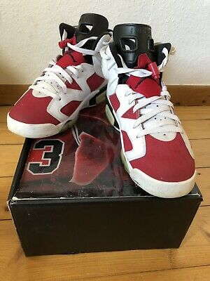 watch 3ef6f fbceb Nike Air Jordan Retro 6 Carmine Gr. 43