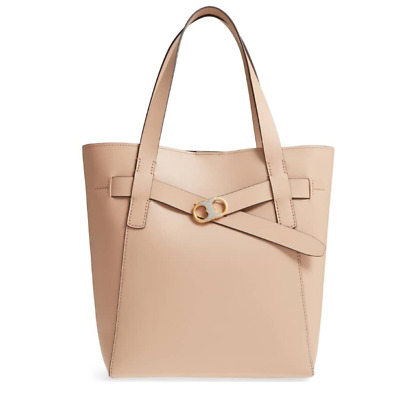8a9b5056fc07 TORY BURCH PERFECT Sand Leather Small KIRA Tote  498 -  448.00 ...