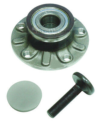 Vw Caddy 1.6 1.9 2.0 Petrol Diesel 05-14 Rear Wheel Bearing Hub Abs Assembly