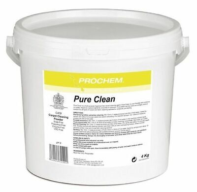 Prochem Pure Clean, Enzyme and fragrance-free cleaning. 4kg tub