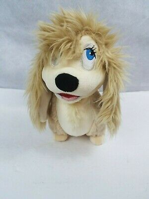 ❤Disney Store Authentic Peg Pekingese Dog Stuffed Plush Lady and the Tramp RARE❤