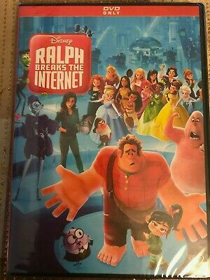 Ralph Breaks The Internet (Dvd, 2018) *free Shipping