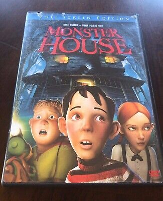 Kids Movie Monster House Dvd Full Screen Edition 3 44 Picclick