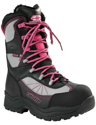 Castle X Force 2 Womens Snowmobile Boots Pink 9 USA