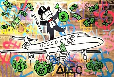 Alec Monopoly Canvas HD Prints Painting Wall Art Home Decor 12x18 inch #3
