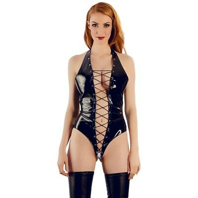 Black Level Body in vernice catsuit chemise badydoll miniabito sexyshop sadomie
