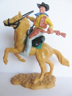 Timpo Toys Mounted Cowboy Horse Pferd 5