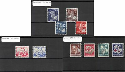 Lot of 17 Germany DDR MH Mint Hinged Stamps Scott Range 48 - 88 #141467 X R