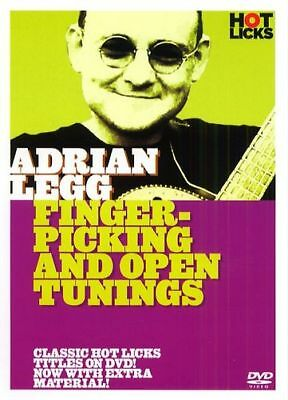 Fingerpicking And Open Tuning Hot Licks Adrian Legg Dvd