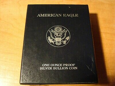 1999 Proof Silver American Eagle with COA