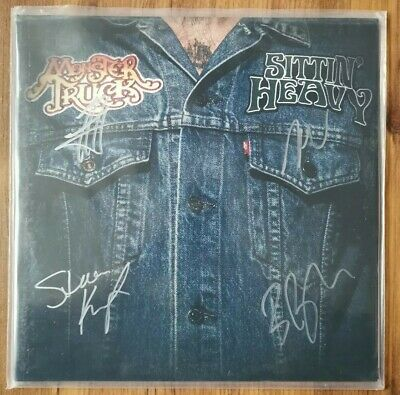 Monster Truck - Sittin Heavy - Autographed/Signed Limited Edition White Vinyl