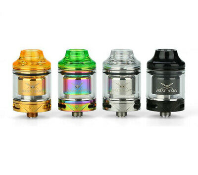 OUMIER® Wasp NANO RTA Tank | Rebuildable Atomizer | 100% Authentic | UK STOCK