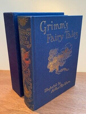 The Folio Society Grimm's Fairy Tales Illustrated By Arthur Rackham