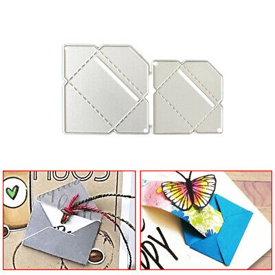 Envelope Metal Die Cut Cutting Dies for DIY Scrapbooking Embossing Paper Cards