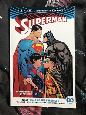 Superman Rebirth Vol 2 Trials Of The Super Son Graphic Novel DC Comics