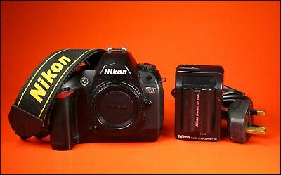 Nikon D70 Digital SLR Camera, Battery & Charger, Strap, 6,668 Shots