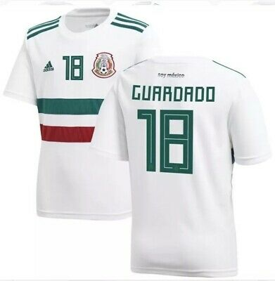 d01c3614cdd Mexico Long Sleeve Adidas Techfit Player Issue Jersey 2013 Liga Mx. $135.00  Buy It Now 12d 11h. See Details. Mexico Guardado Away Jersey