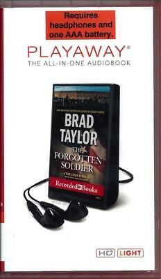 The Forgotten Soldier by Brad Taylor (Pike Logan) Unabridged Playaway Audio Book