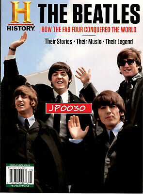 History Magazine 2019, The Beatles, Their Stories, Their Music, Sealed Polybag
