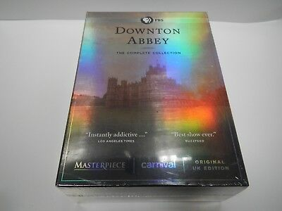 Downtown Abbey The Complete Series Collection DVD Brand New Sealed