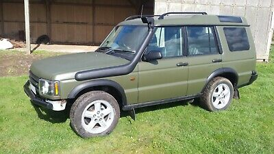 Land Rover Discovery 2 TD5 Gs (W reg 2000) Off Roader with facelift headlights