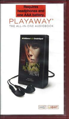 Hush by Karen Robards read by Cassandra Campbell Unabridged Playaway Audio Book