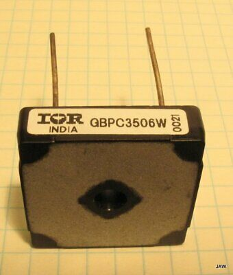 Lot Of 3  Gbpc3506W  Bridge Rectifier 35 Amp,  600 Volt Square With Wire Leads