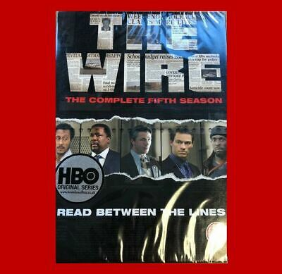 The Wire:Complete Fifth Season/Series Five5DVD NEW4disc7321902223384Dominic West