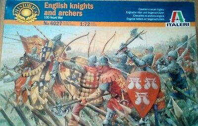 """Italeri """"English Knights & Archers"""" 1/72 toy soldiers"""