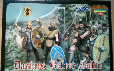 """Stretlets """"Dacians before battle x56 figs"""" 1/72 toy soldiers"""