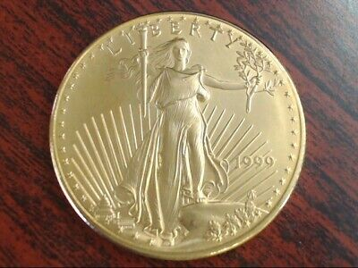 1999 $50 American Eagle Liberty 1 oz. One Ounce Gold Coin ungraded (GP2010453)
