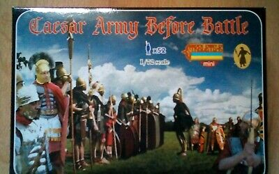 """Stretlets """"Caesars Army before battle x52 figs"""" 1/72 toy soldiers"""