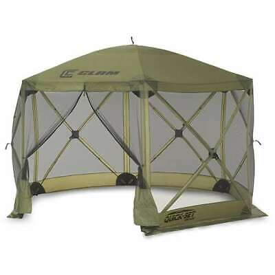 Clam Quick Set Escape Portable Camping Gazebo Canopy Shelter Screen (Used)