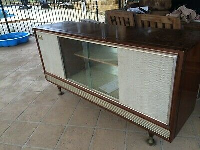 old stereo record player