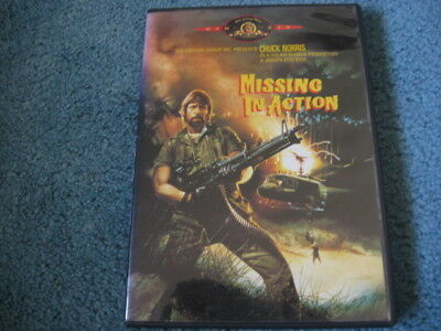 Missing In Action DVD Chuck Norris Joseph Zito