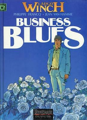 Largo Winch 4 Business Blues - Francq/Van Hamme - EO 10/1993 - Très bon état