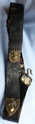 Original Late-18Th/early 19Th Century French Napoleonic Artillery Shoulder Belt