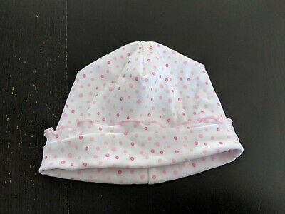 f74af3d1 KISSY KISSY HAT Baby Infant Girl Pink White Soft Cotton Bear Striped ...