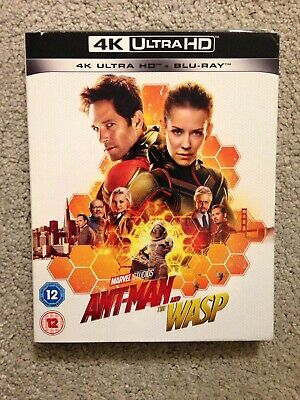Marvel: Ant Man And The Wasp- 4k Ultra HD+ Bluray New With Sleeve