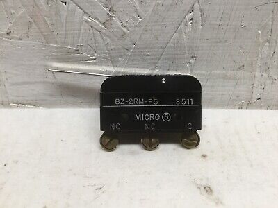 Micro Switch BZ-2RM-P5 Snap Action Limit Switch 15A 125, 250 or 480 VAC