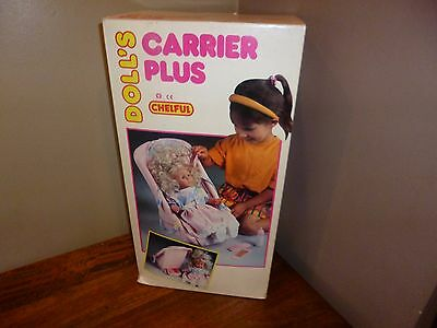 Poupée Doll Vintage New sealed in box Doll's Carrier Plus Chelful
