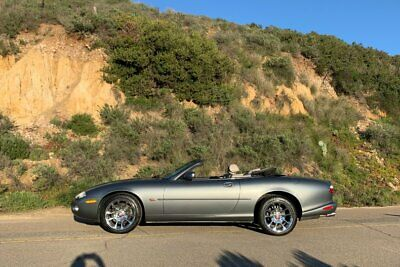 """2002 Jaguar XKR - 23,000 Miles(!) - Recent $3,300 Service - SoCal 4.0L (370hp) V8 ~ """"Quartz"""" with """"Oatmeal"""" Leather Interior ~ Newer Michelin's"""